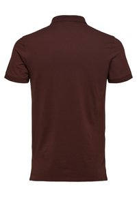 Selected Homme - SLHARO EMBROIDERY - Polo shirt - brown - 1
