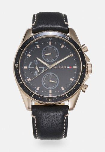 PARKER - Watch - brown/black