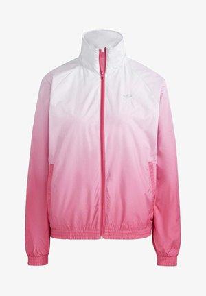 ADICOLOR 3D TREFOIL TRACK TOP - Training jacket - blue, pink