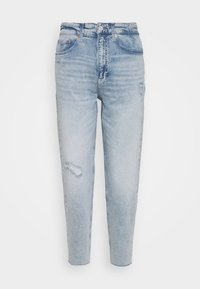 Tommy Jeans - MOM - Relaxed fit jeans - cony light blue comfort destructed - 4