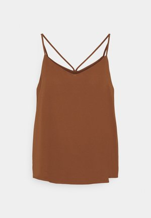 ONLMOON SINGLET - Top - tortoise shell