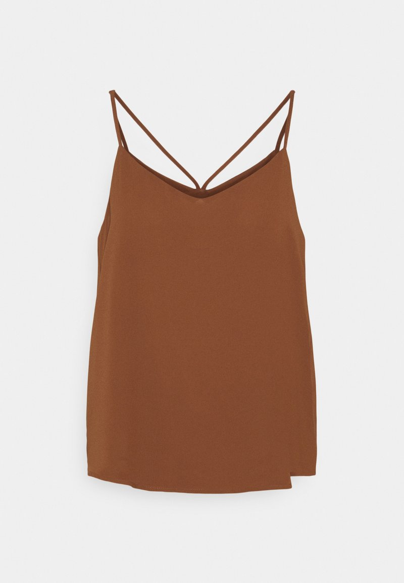 ONLY - ONLMOON SINGLET - Top - tortoise shell