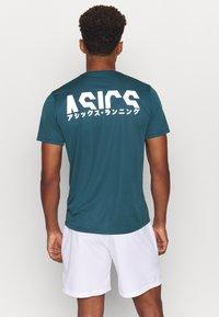 ASICS - KATAKANA  - T-shirt print - magnetic blue - 2