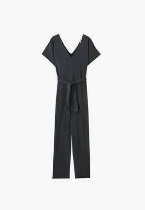 Jumpsuit - mottled black