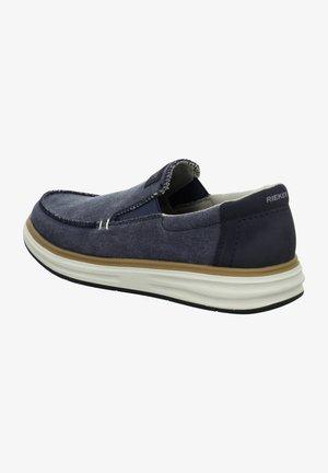 Slip-ons - blau