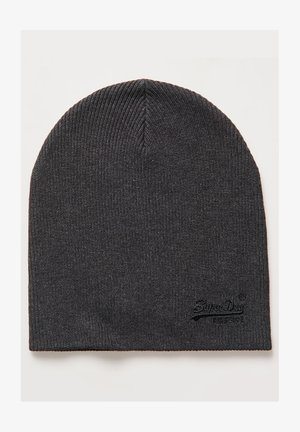 ORANGE LABEL - Beanie - dark charcoal grit