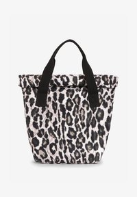 PRINTED FOLDOVER TOP  - Tote bag - white, black