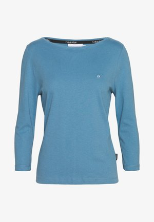 3/4 SLEEVE BOAT NECK - Long sleeved top - blue heaven