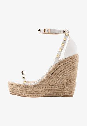KORI - High heeled sandals - white