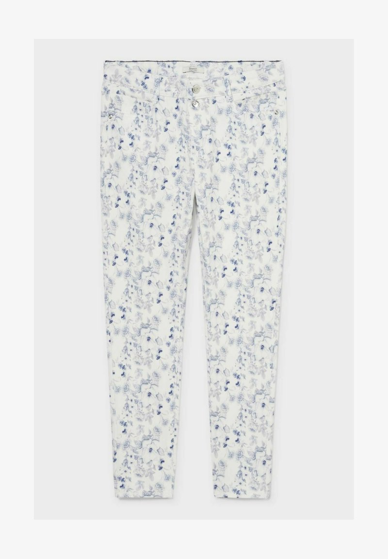 C&A - Trousers - blue / white