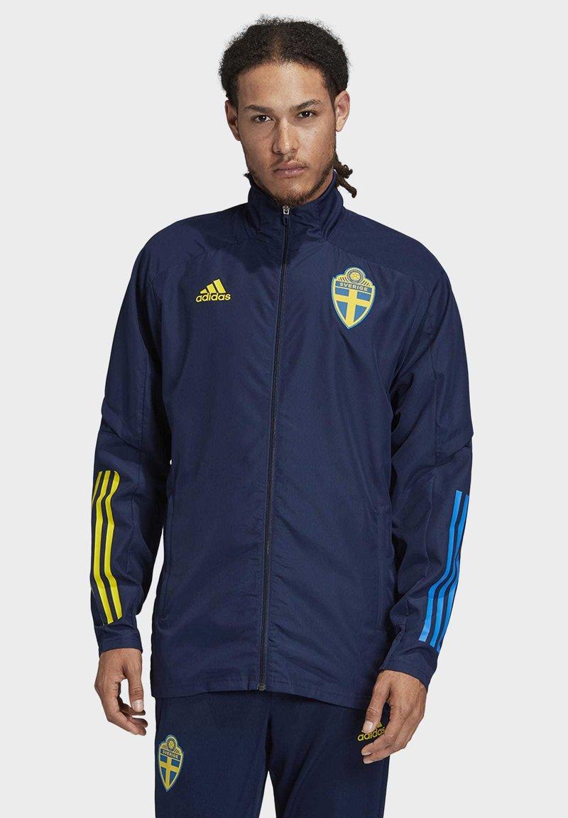 adidas Performance - SWEDEN SVFF PRESENTATION JACKET - National team wear - blue