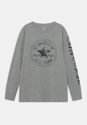 CAMO TEE - Topper langermet - dark grey heather