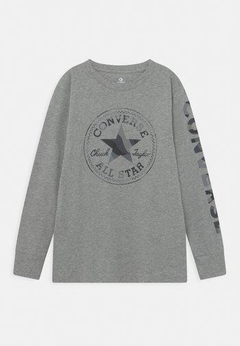 CAMO TEE - Maglietta a manica lunga - dark grey heather