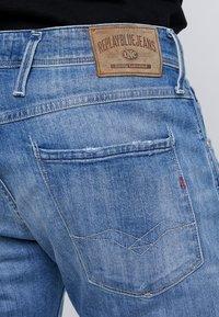 Replay - ANBASS - Straight leg jeans - medium blue - 4