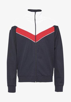 ONSSHIRO TRACK ZIP SWEAT - Zip-up hoodie - blue