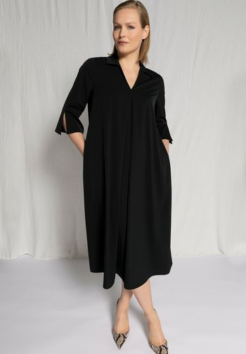 PLUS SIZE SMOOTH FALLING SWING  - Day dress - black