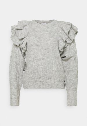 ENSPRING - Jumper - light grey melange