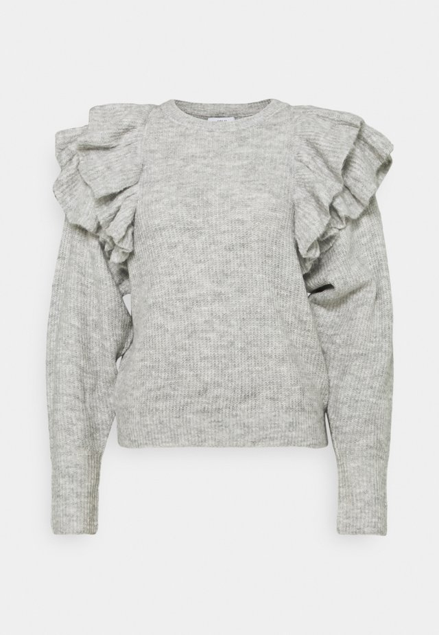 ENSPRING - Pullover - light grey melange