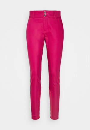 BLAKE NIGHT PANT SUSTAINABLE - Stoffhose - cherries jubilee