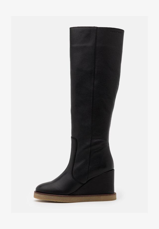 CELINA  - Laarzen met hoge hak - black