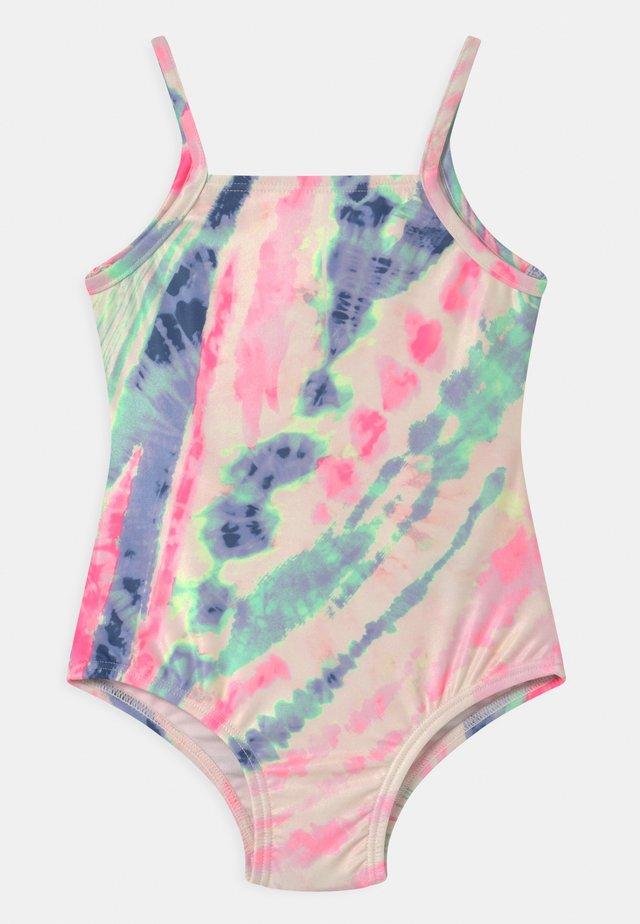 TODDLER GIRL TWIST BACK  - Swimsuit - multi-coloured