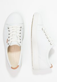 ECCO - SOFT - Sneakers laag - white - 3