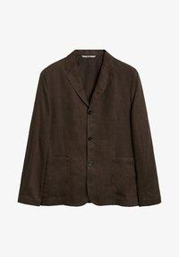 Mango - BISLEVA - Blazer jacket - braun - 5