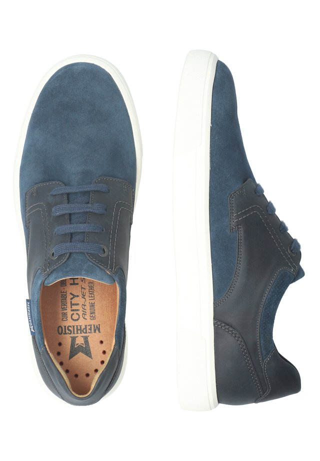 CALISTO - Casual lace-ups - mulberry