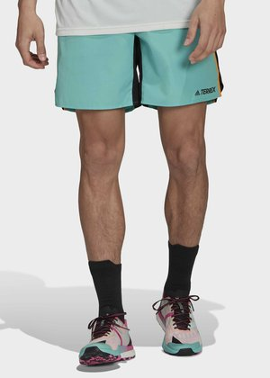 TERREX PRIMEBLUE TRAIL RUNNING SHORTS - Sports shorts - green
