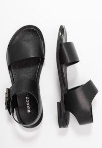 Bianco - BIADARLA - Sandały - black - 3