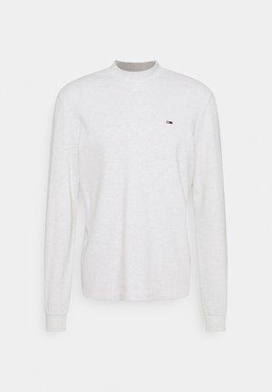 HIGH NECK - Bluzka z długim rękawem - white