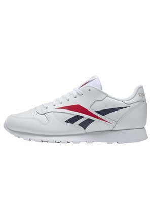 CLASSIC LEATHER VECTOR SHOES - Sneakers laag - white