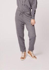Morgan - HOSEN - Leggings - Trousers - mottled grey - 0