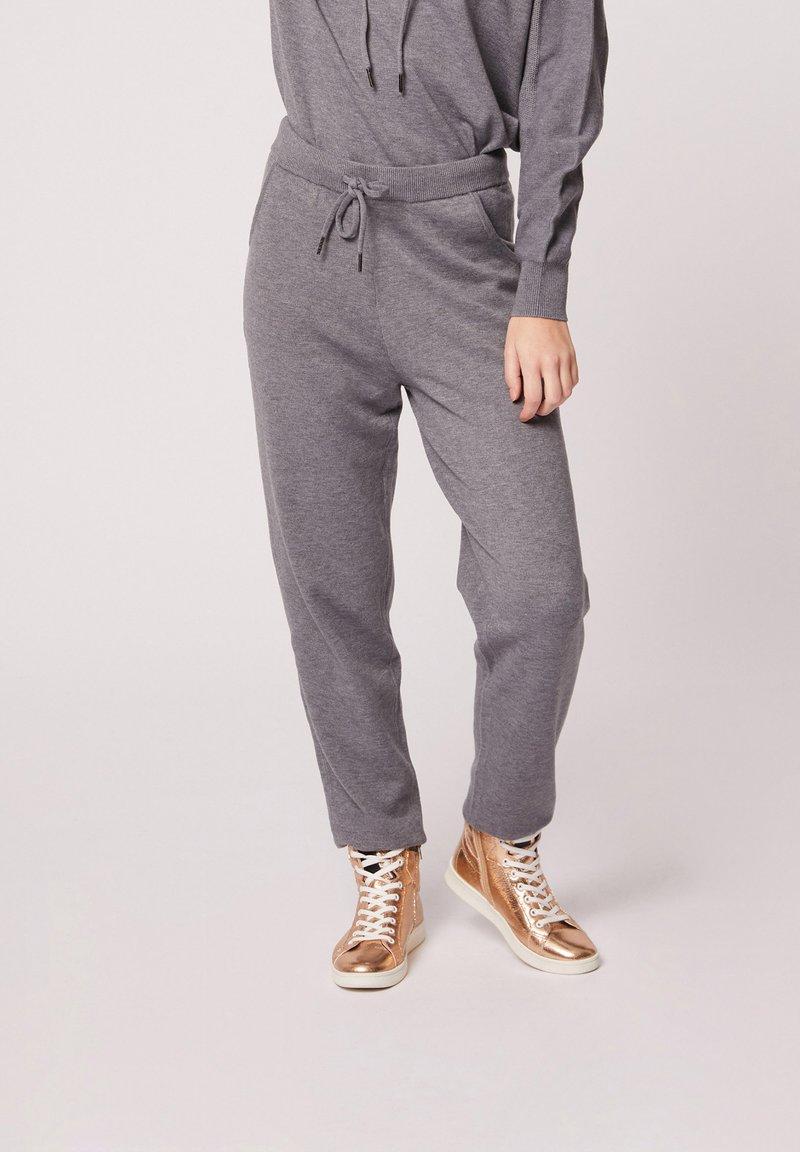 Morgan - HOSEN - Leggings - Trousers - mottled grey