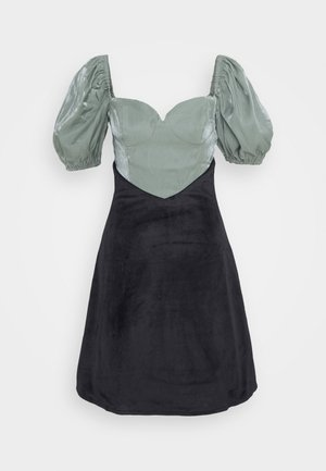 GIA - Cocktail dress / Party dress - green/black
