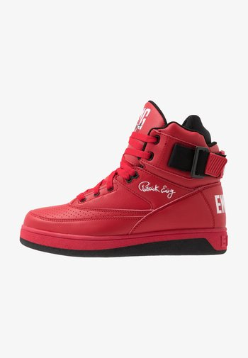 33 HI - High-top trainers - chinese red/black/white