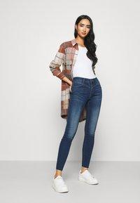 Noisy May - NMLUCY - Jeans Skinny Fit - medium blue denim - 1