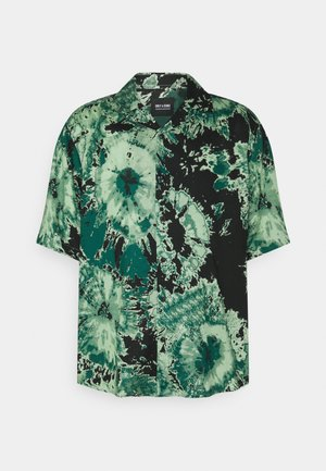 ONSDION TIE DYE POPLIN - Shirt - deep teal
