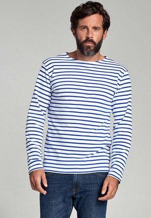 HOUAT MARINIÈRE - T-shirt à manches longues - blanc/etoile