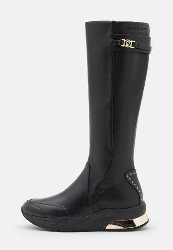 KARLIE  - Wedge boots - black