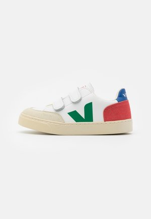 SMALL V 12 UNISEX - Sneakers - extra white/emeraude pekin