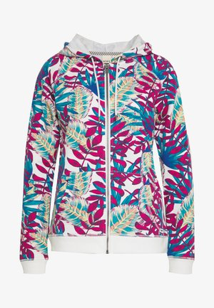 GOING RIGHT - Zip-up hoodie - snow white paradise