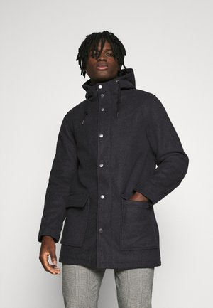 Parka - dark grey melange