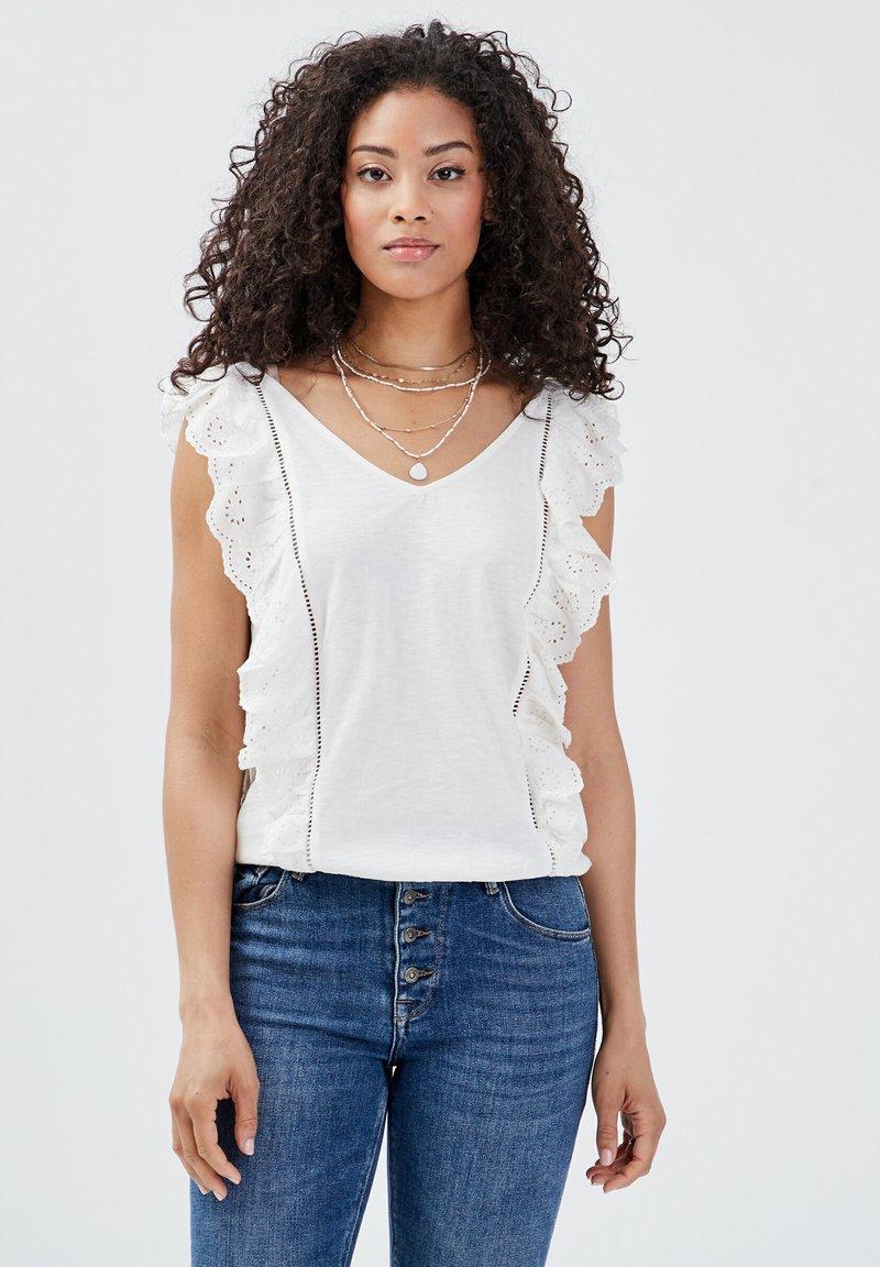 BONOBO Jeans - Blusa - ecru