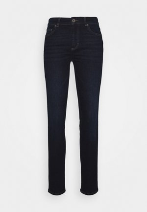 SKARA SKINNY - Jeansy Skinny Fit - red line denim