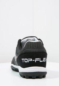 Joma - TOP FLEX TURF - Voetbalschoenen voor kunstgras - black - 3