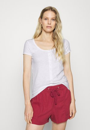 SCOOP CARDI - Print T-shirt - fresh white