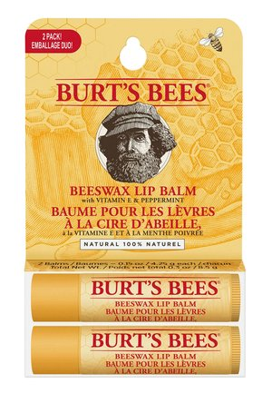 BEESWAX TWIN PACK BLISTER - Lippalet - -