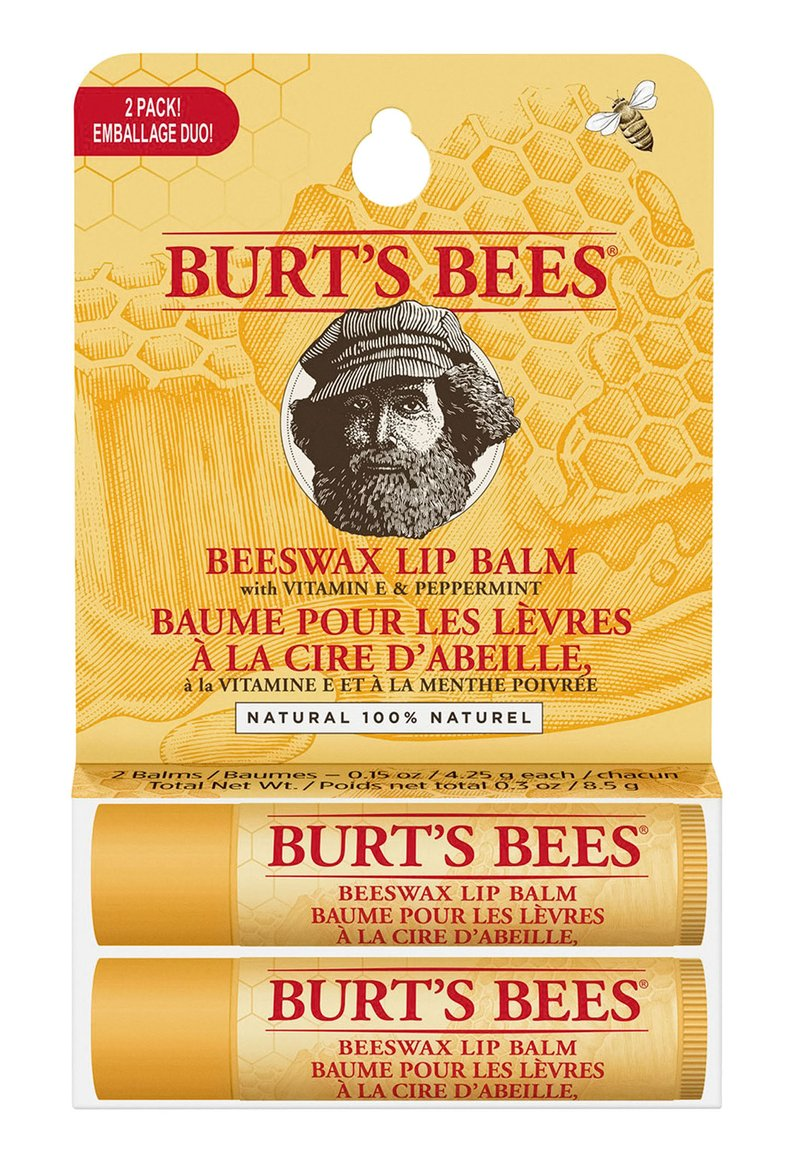 Burt's Bees - BEESWAX TWIN PACK BLISTER - Lip palette - -
