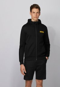 BOSS - SAGGY BATCH Z - Zip-up sweatshirt - black - 0